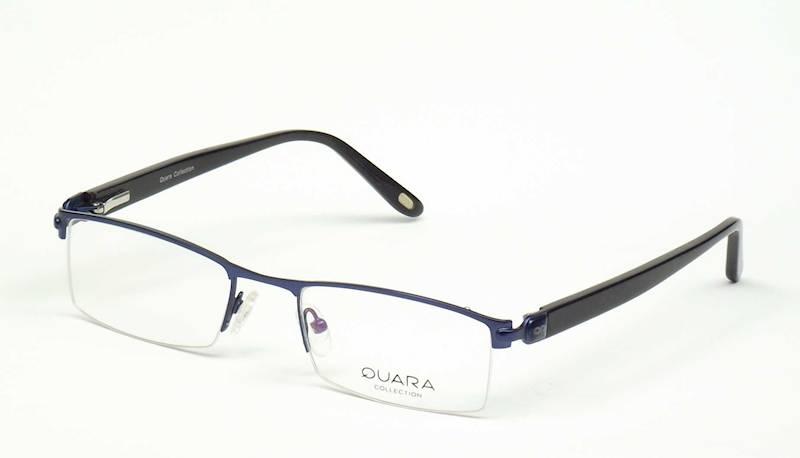 Oprawa okularowa QR1203 C09 Quara - granat/czarny