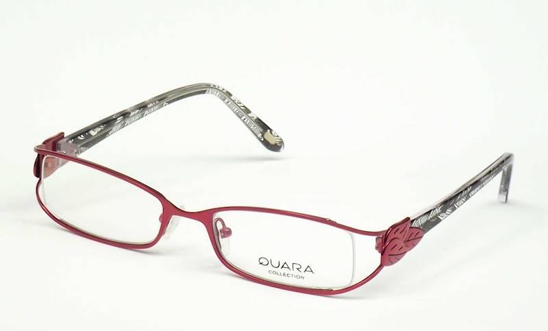 Oprawa okularowa QR1202 C05 Quara - burgund