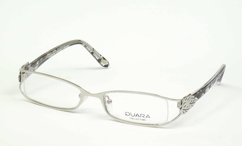 Oprawa okularowa QR1202 C02 Quara - srebro