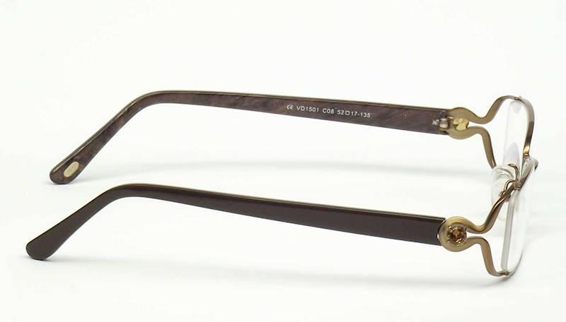 Oprawa okularowa VD1501 C08 Verdi - brąz