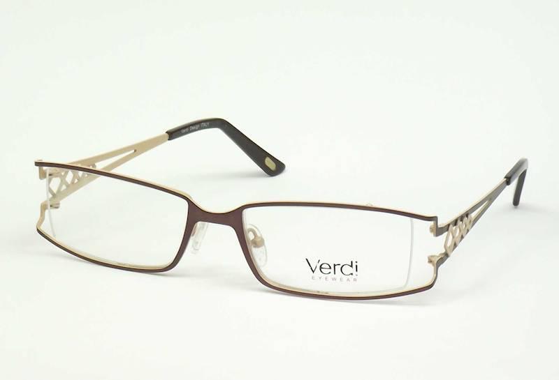 Oprawa okularowa VD1405 C03 Verdi - brąz /beż
