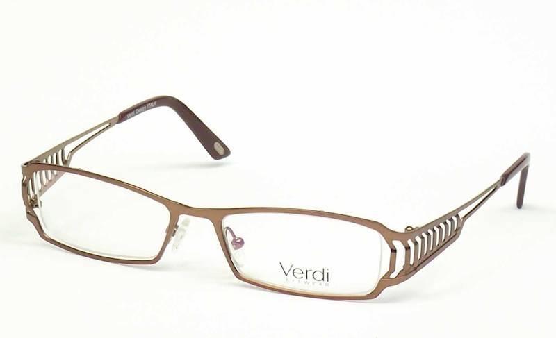 Oprawa okularowa VD1502 C37 Verdi - brąz