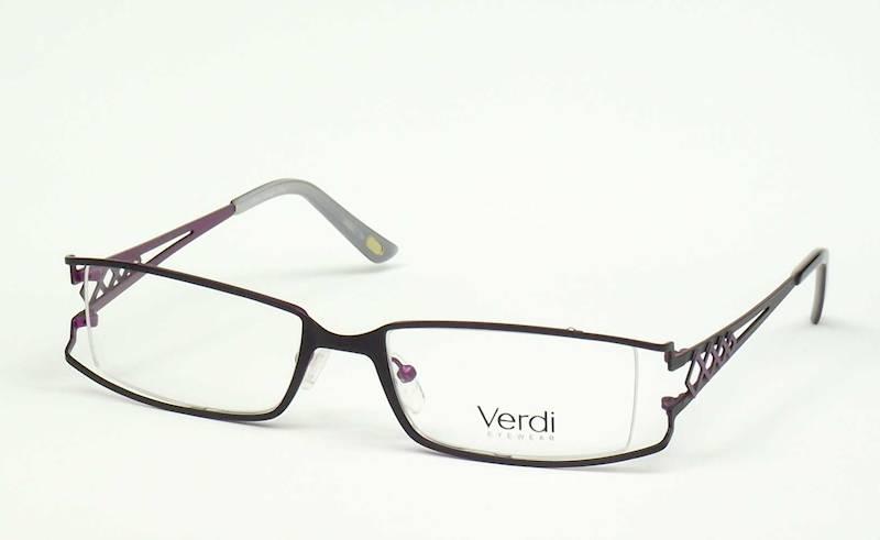 Oprawa okularowa VD1405 C01 Verdi - czarny/purpura