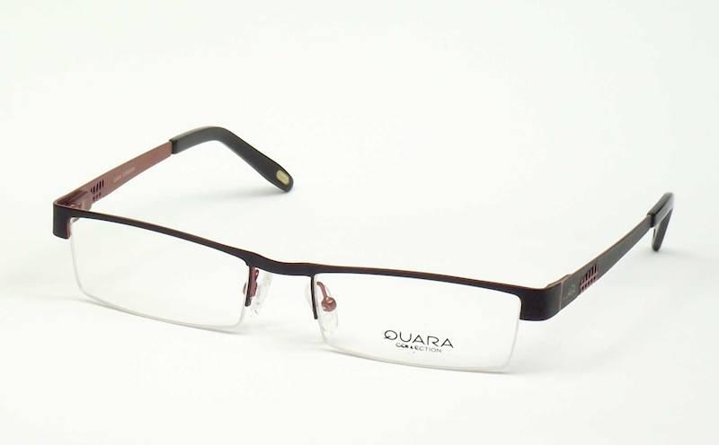 Oprawa okularowa QR1101 C01 Quara - czarny/burgund
