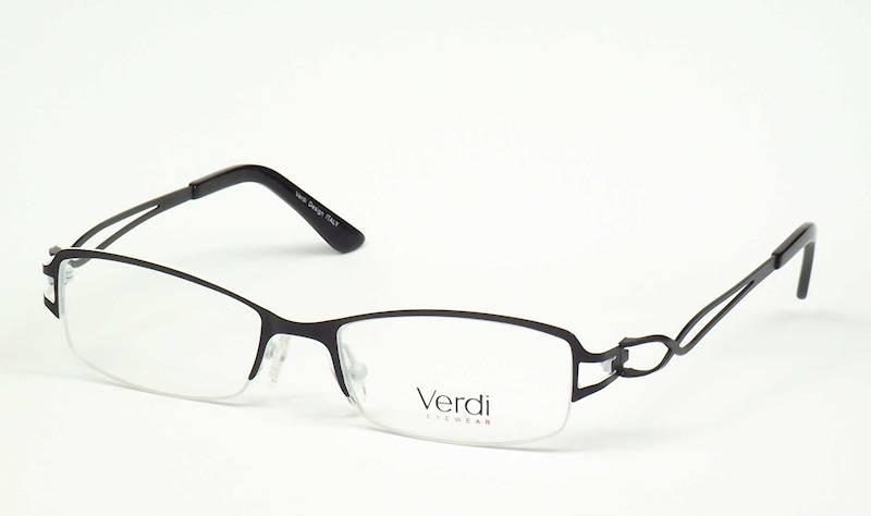 Oprawa okularowa VD1421 C02 Verdi - czarny/biały