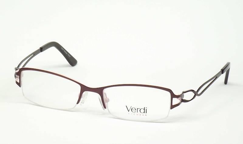 Oprawa okularowa VD1421 C01 Verdi - brąz/róż