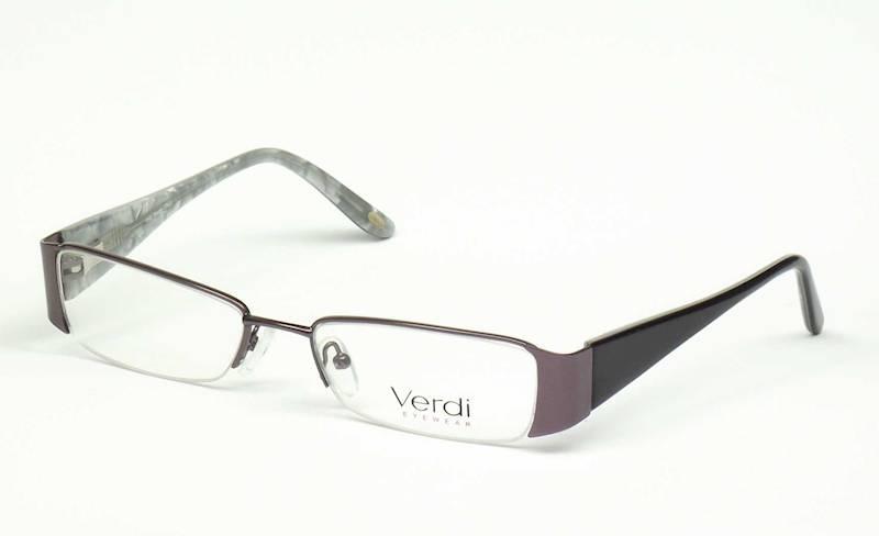 Oprawa okularowa VD1134 C02 Verdi - gun/czarny