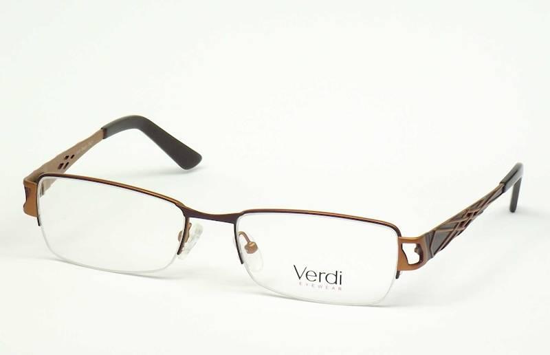 Oprawa okularowa VD1417 C02 Verdi -brąz/orange