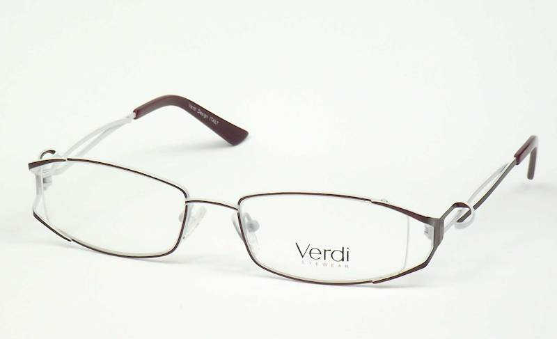 Oprawa okularowa VD1422 C03 Verdi - brąz/biały