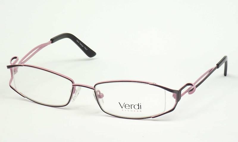 Oprawa okularowa VD1422 C02 Verdi - czarny/wrzos
