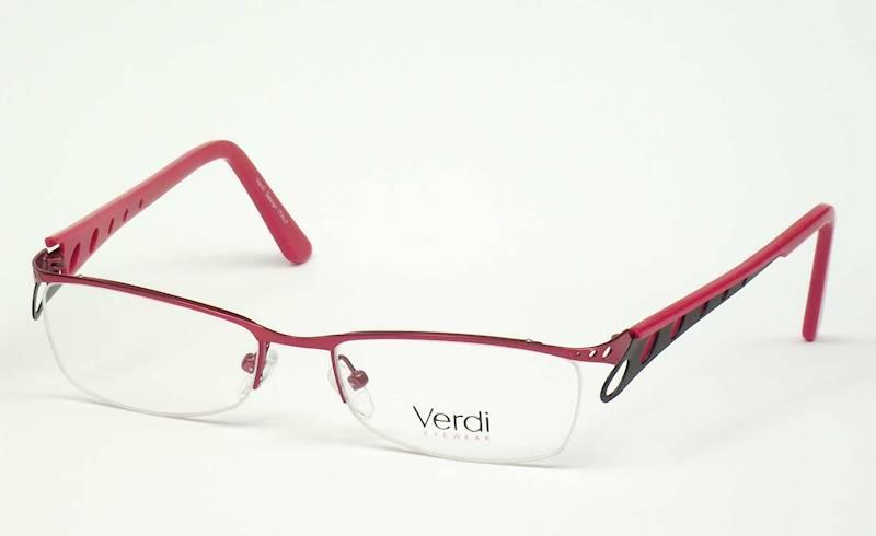 Oprawa okularowa VD1415 C02 Verdi - burgund/czarny