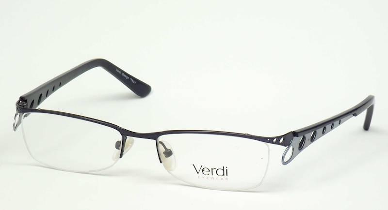 Oprawa okularowa VD1415 C01 Verdi - granat/niebies