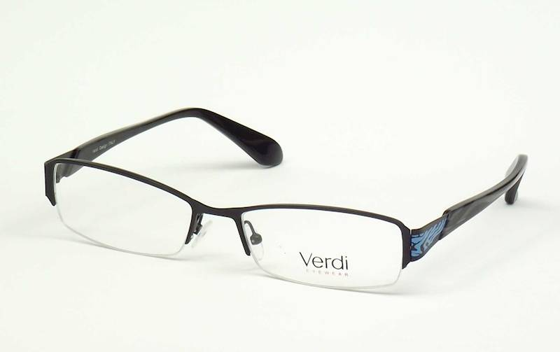 Oprawa okularowa VD1414 C03 Verdi - czarny/niebies
