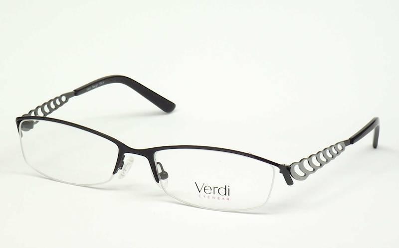 Oprawa okularowa VD1419 C03 Verdi - czarny/srebro