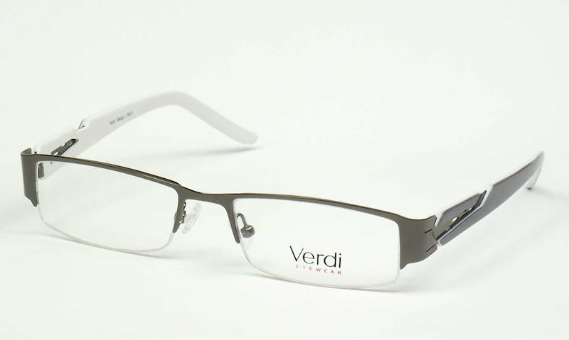 Oprawa okularowa VD1413 C03 Verdi - gun/szar/biały