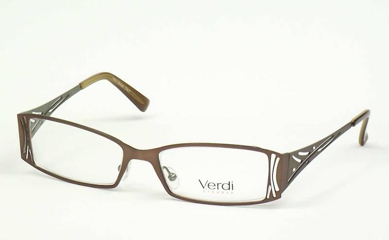Oprawa okularowa VD1410 C03 Verdi - brąz/zieleń