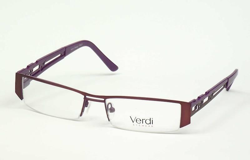 Oprawa okularowa VD1408 C03 Verdi - brąz/fiolet