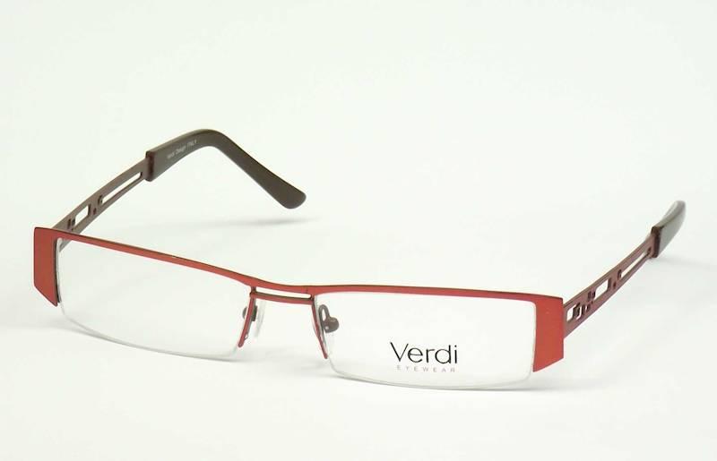 Oprawa okularowa VD1408 C02 Verdi - pomarańcz