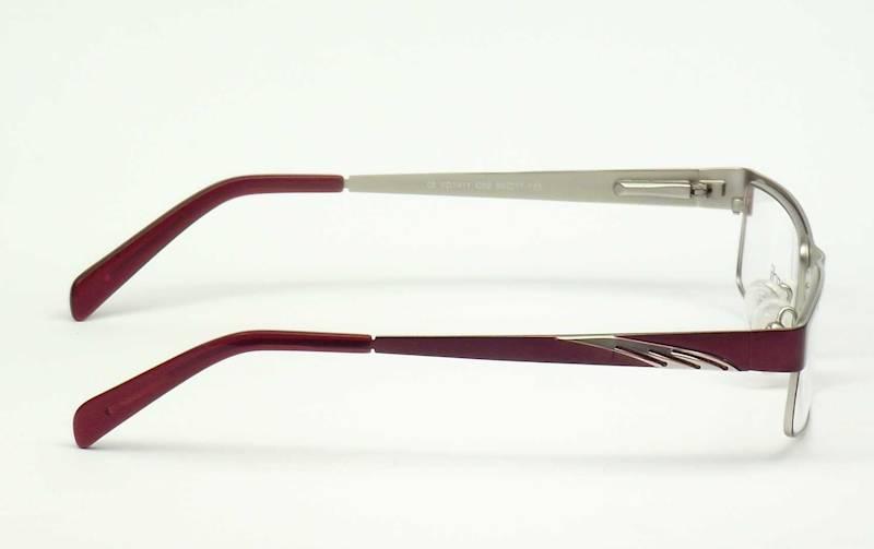 Oprawa okularowa VD1411 C02 Verdi -burgund/srebro