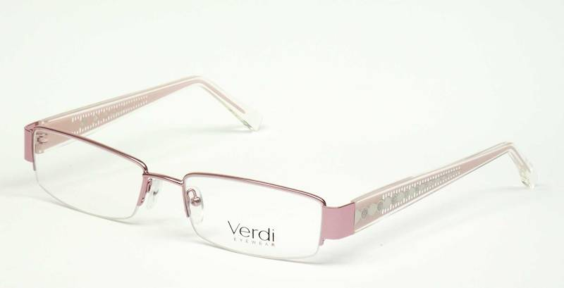 Oprawa okularowa VD1144 C01 Verdi - róż/srebro