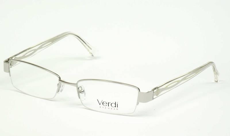 Oprawa okularowa VD1143 C02 Verdi - srebro/żółty