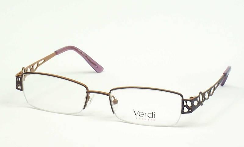 Oprawa okularowa VD1409 C01 Verdi - fiolet/brąz