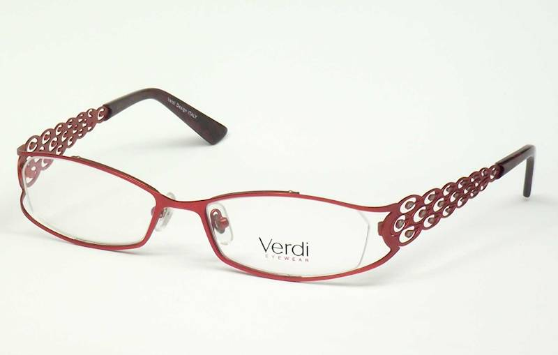 Oprawa okularowa VD1407 C01 Verdi - burgund