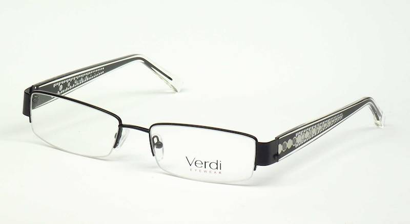 Oprawa okularowa VD1144 C03 Verdi -czarny/srebro
