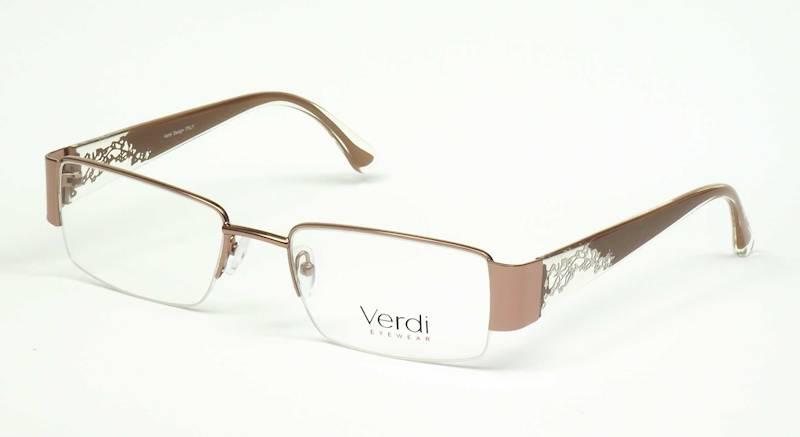 Oprawa okularowa VD1142 C03 Verdi - brąz/złoto