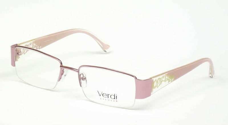 Oprawa okularowa VD1142 C01 Verdi - róż/żółty
