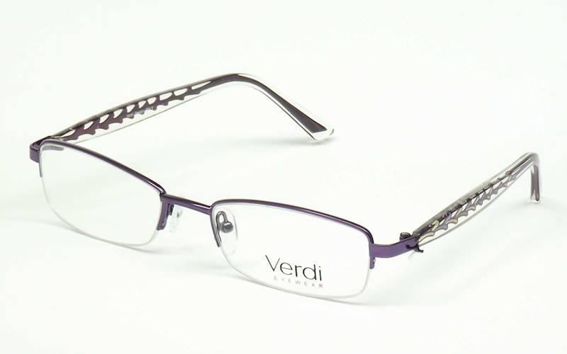 Oprawa okularowa VD1141 C02 Verdi - purpura