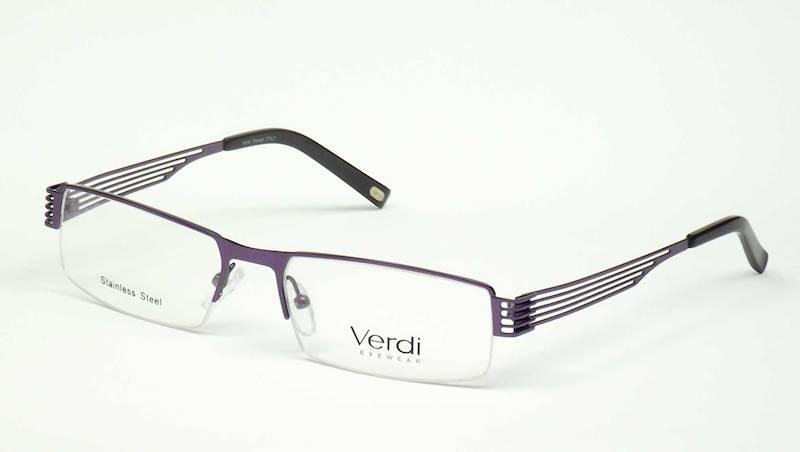 Oprawa okularowa VD1138 C02 Verdi - fiolet/czarny