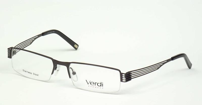 Oprawa okularowa VD1138 C01 Verdi - gun/czarny