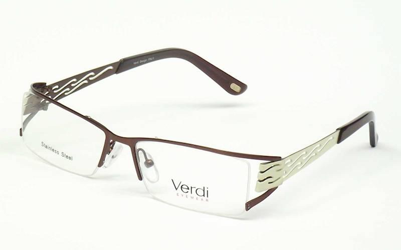 Oprawa okularowa VD1137 C03 Verdi - brąz/beż