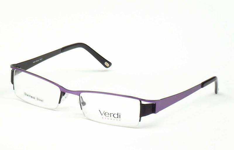 Oprawa okularowa VD1136 C02 Verdi - fiolet/czarny