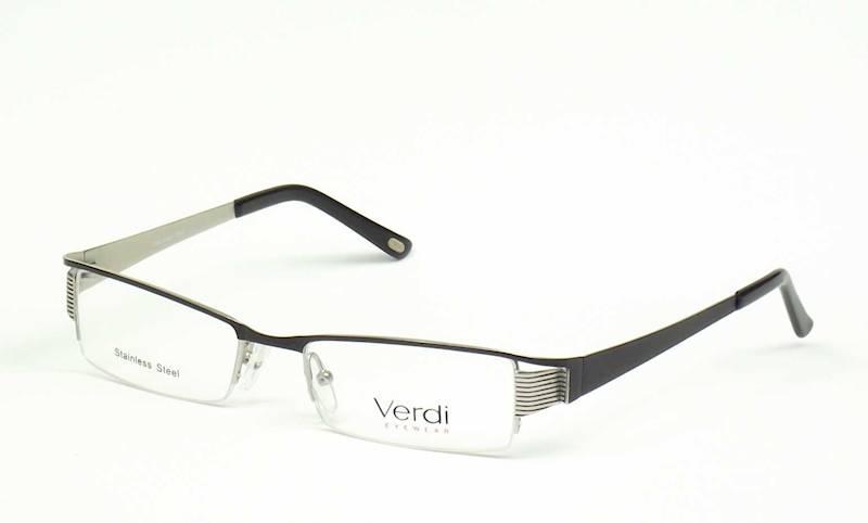 Oprawa okularowa VD1136 C01 Verdi - czarny/srebrny