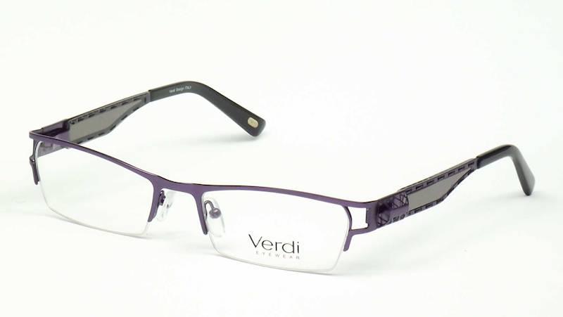 Oprawa okularowa VD1133 C03 Verdi - fiolet/czarny