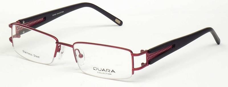 Oprawa okularowa QR1015 C03 Quara - burgund/czarny