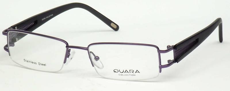 Oprawa okularowa QR1015 C02 Quara - fiolet/czarny
