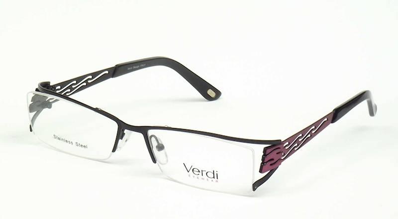 Oprawa okularowa VD1137 C01 Verdi - czarny/fiolet