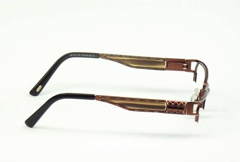 Oprawa okularowa VD1133 C01 Verdi - brąz/czarny