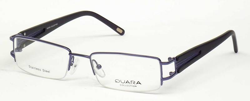 Oprawa okularowa QR1015 C04 Quara - granat/czarny
