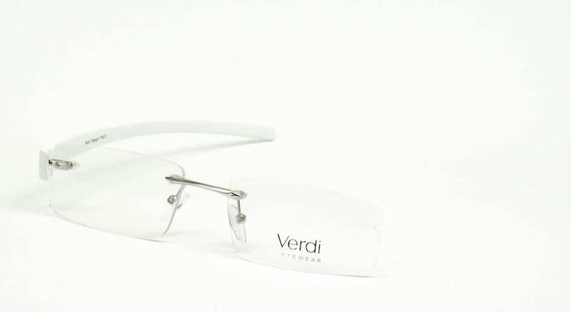 Oprawa okularowa VD1140 C03 Verdi - srebro/biały