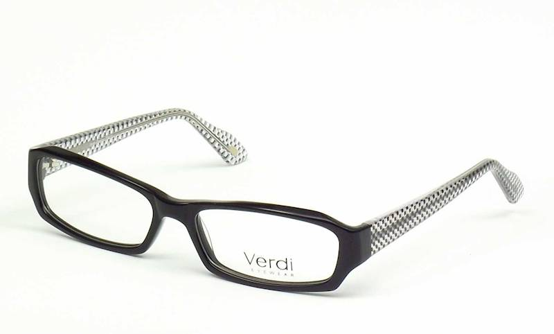 Oprawa okularowa VD1135 C01 Verdi - czarny/szach