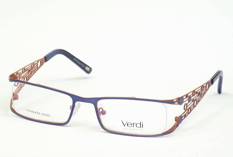 Oprawa okularowa VD1601 C03 Verdi - niebieski/oran