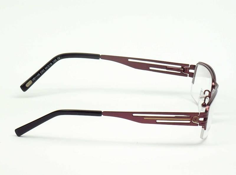 Oprawa okularowa VD1149 C03 Verdi - śliwka/czarny
