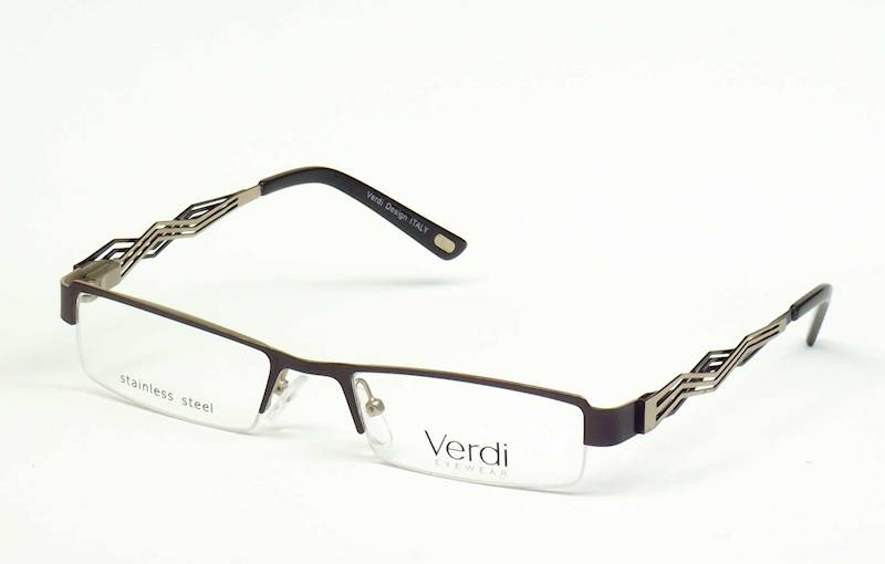 Oprawa okularowa VD1146 C01 Verdi - brąz/złoto