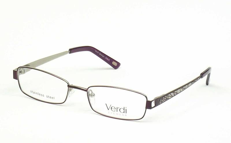 Oprawa okularowa VD1145 C01 Verdi - fiolet/srebro
