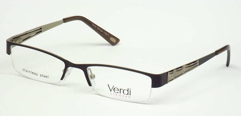 Oprawa okularowa VD1148 C03 Verdi - brąz/złoto