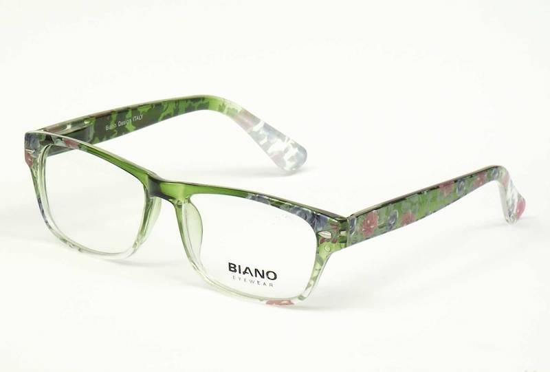 Oprawa okularowa BN1104 C04 Biano - zielony+kwiatk